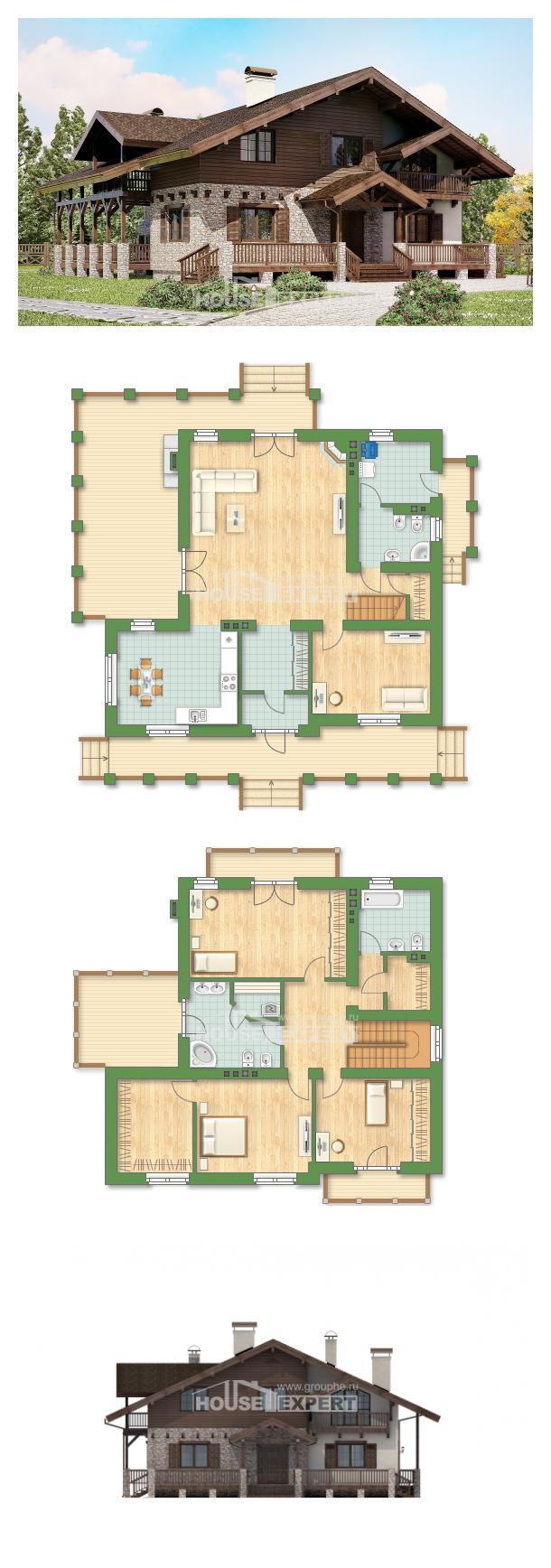 Проект дома 250-003-П   House Expert